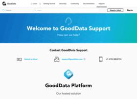 support.gooddata.com