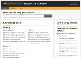 support.havelockinvestments.com