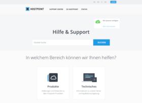 support.hostpoint.ch