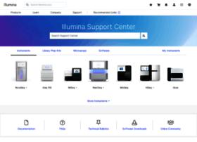 support.illumina.com