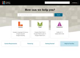 support.imaginelearning.com