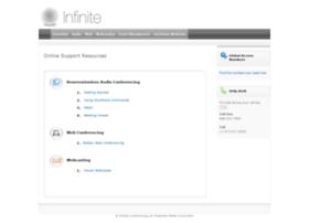 support.infiniteconferencing.com