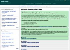 support.intershop.com