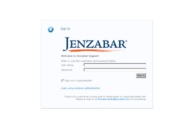 support.jenzabar.net