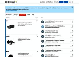 support.kinivo.com