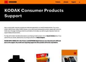 support.kodak.com