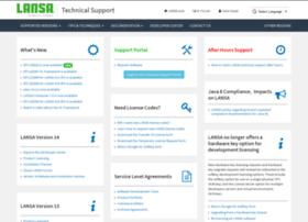 support.lansa.com