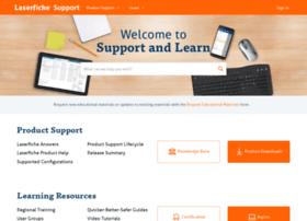 support.laserfiche.com