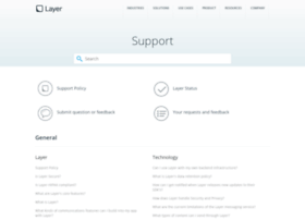 support.layer.com