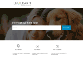 support.lifelearn.com