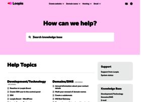support.loopia.com