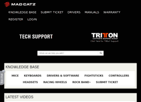 support.madcatz.com