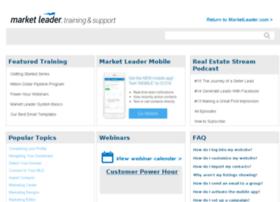 support.marketleader.com