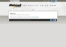 support.mcleodsoftware.com