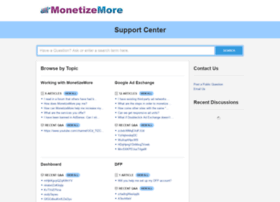 support.monetizemore.com