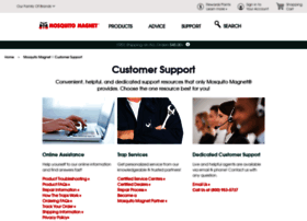 Support.mosquitomagnet.com