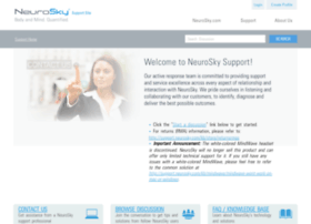 support.neurosky.com