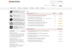 support.nevron.com