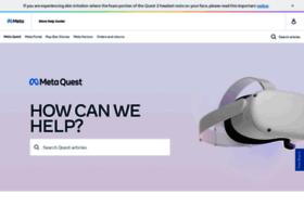 support.oculus.com