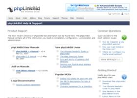 support.phplinkbid.com