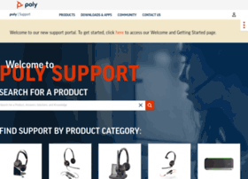 support.polycom.com
