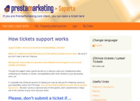 support.prestamarketing.com