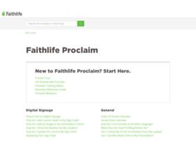 support.proclaimonline.com