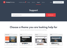 support.proteusthemes.com