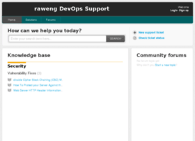 support.raweng.com