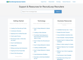 support.recruitloop.com
