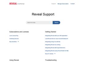 support.revealapp.com