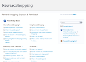 support.rewardshopping.com