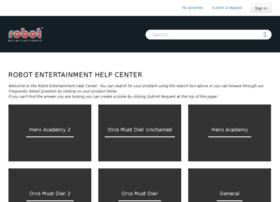 support.robotentertainment.com