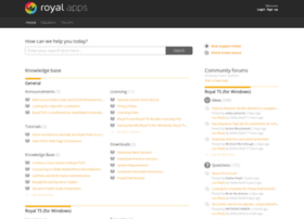 support.royalapplications.com
