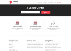 support.saferweb.com