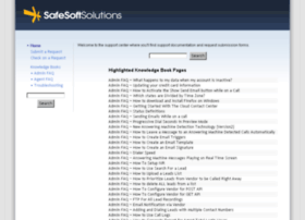 support.safesoftsolutions.com