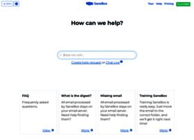 support.sanebox.com