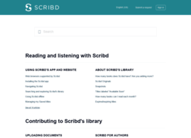 support.scribd.com