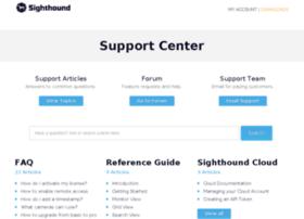 support.sighthoundlabs.com