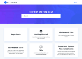 support.sitewrench.com