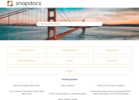 support.snapdocs.com