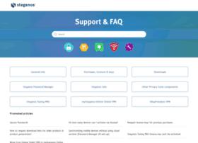 support.steganos.com