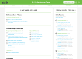 support.striiv.com
