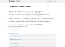 support.tanphysics.com