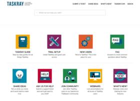 support.taskray.com