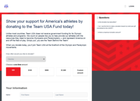 support.teamusa.org