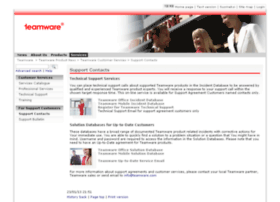 support.teamware.com