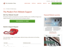 support.themodernfirm.com