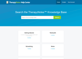 support.therapynotes.com