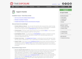support.timeexposure.com